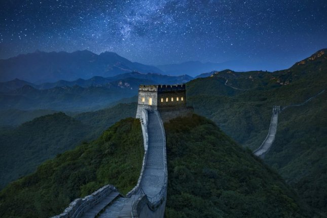 Airbnb is offering potential guests the chance to spend a night in a custom-built bedroom in a guard tower on the Great Wall of China. Photo courtesy of Airbnb