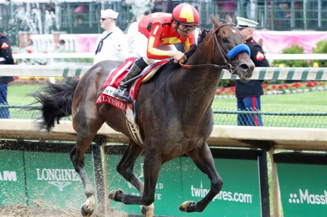 McKinzey, seen winning the Alysheba at Churchill Downs earlier this season, is the favorite for Saturday's Grade I Whitney at Saratoga. Photo courtesy of Churchill Downs