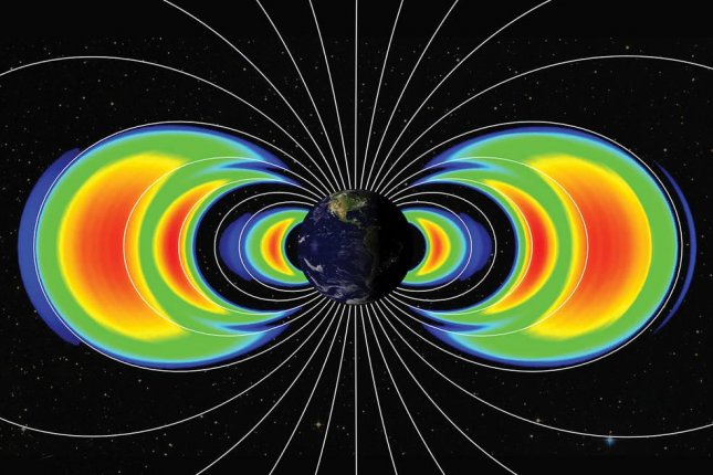 New research suggests plasma waves in Earth's magnetosphere and its Van Allen radiation belts are capable of accelerating electrons to ultra-relativistic energies. Photo byNASA's Goddard Space Flight Center/Johns Hopkins University, Applied Physics Laboratory