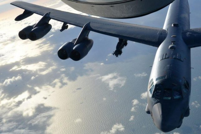 B-52 Bomber Drops Record Number of Bombs on Taliban Base