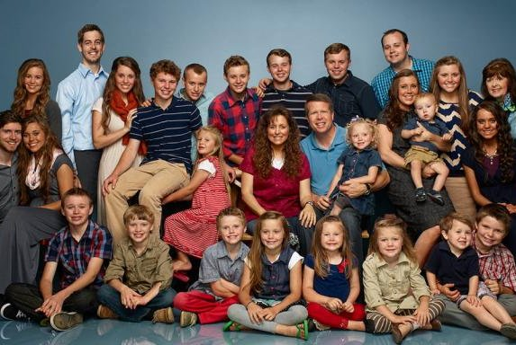 The Duggar family of '19 Kids & Counting.' Photo by TLC