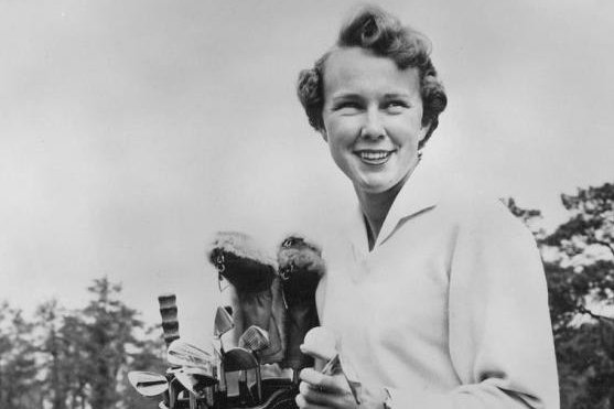 Mickey Wright's 13 LPGA majors trail only Patty Berg, who won 15 major titles. Photo courtesy of Wikimedia Commons