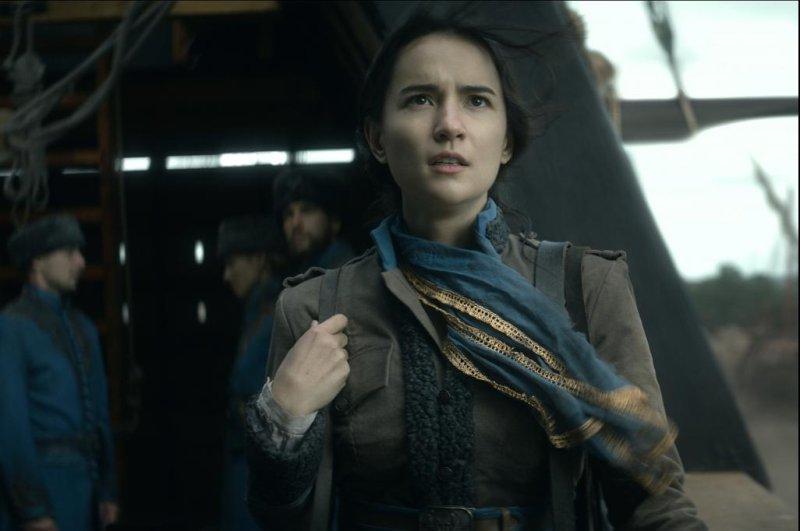 Jessie Mei Li plays Alina Sarkov, the hero of Leigh Bardugo's Shadow and Bone. Photo courtesy of Netflix