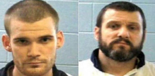 A reward of $30,000 each was offered for information leading to the capture of Ricky Dubose (L) and Donnie Russell Rowe (R), prison inmates accused of shooting two Georgia corrections officers to death during an escape Tuesday. Image courtesy of Georgia Department of Corrections