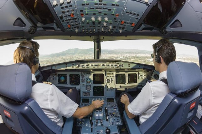 Air Force researchers hope to develop a system that can automatically detect hypoxia in pilots. Photo by Angelo Giampiccolo/Shutterstock