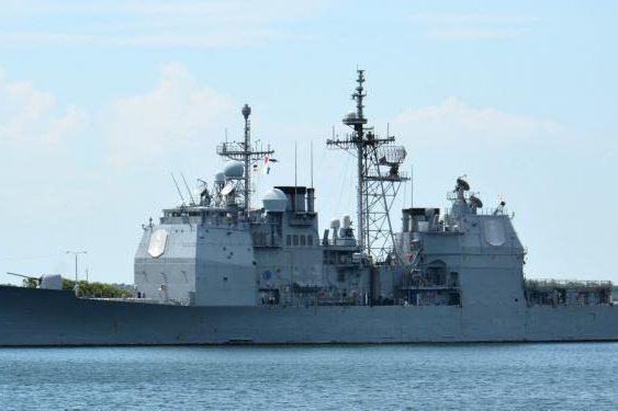 The U.S. Navy's Ticonderoga-class guided-missile cruiser USS Vicksburg is scheduled to undergo special selected restricted availability during repair and modernization. Photo by Lt. J.G. Victoria Einbinder/U.S. Navy