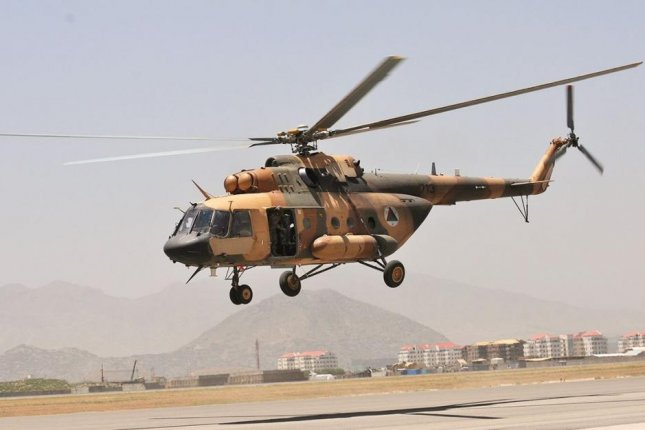 Elbit Systems of Israel has been contracted to upgrade Mi-17 helicopters for an unidentified Asia-Pacific country. Pictured, an Mi-17 helicopter of the Afghan Air Force. U.S. Army photo by Staff Sgt. Todd Pouliot