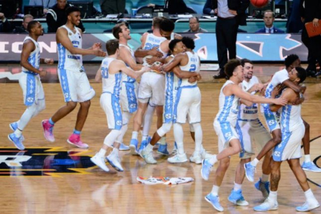 The University of North Carolina beat Gonzaga 71-65 to take its sixth national title in the NCAA Tournament on Monday. Photo courtesy Jeffrey A. Camarati/UNC