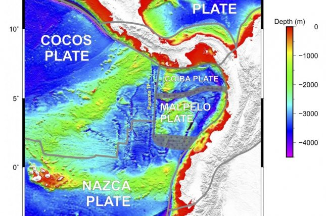 Researchers discovered a new tectonic plate off the coast of Ecuador, and their analysis suggests there may be one more yet-identified microplate. Photo by Tuo Zhang/Rice University