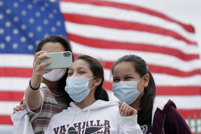 Confirmed coronavirus cases rose to more than 52,000 in one day in the United States, as Americans celebrated the Independence Day weekend. File Photo by John Angelillo/UPI