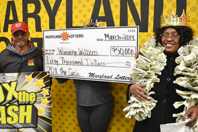A Maryland woman said a cheap birthday gift of a $5 scratch-off ticket from her father turned out to be a $50,000 winner. Photo courtesy of the Maryland Lottery