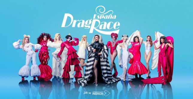 The cast of Drag Race España, which is coming to WOW Presents Plus in May. Image courtesy of World of Wonder