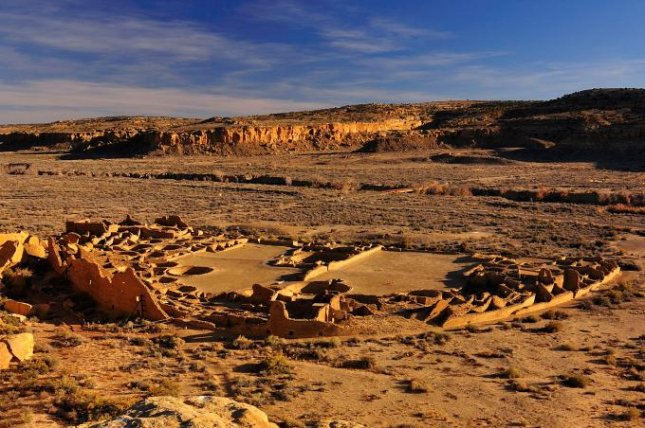 One of the great houses of the Chaco Canyon settlement near what is now Mesa Verde, Colorado. Photo by WSU