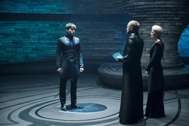 Cameron Cuffe in a scene from Krypton. The show was renewed for a second season Tuesday. Photo by Steffan Hill/Syfy