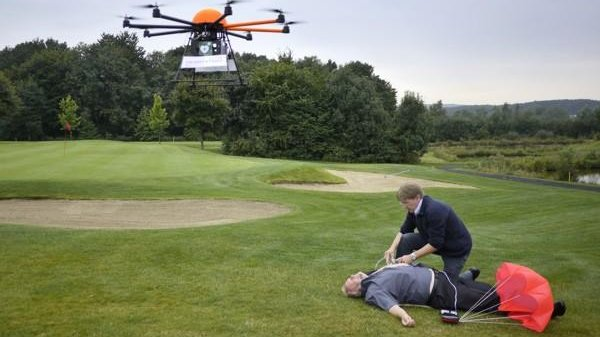 Drone-delivered defibrillators may save rural heart attack victims
