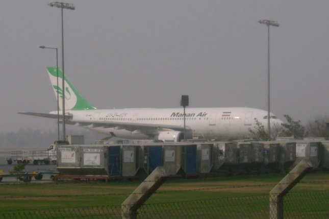 Iran's Mahan Air received nine new aircraft . Its agents were sanctioned by the U.S. Department of Treasury Photo courtesy of wikimedia.org/ Yousaf465.