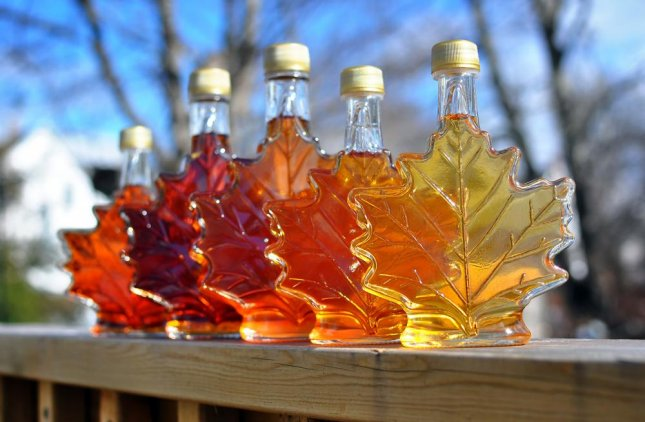 A shipping company in Canada is offering a $10,000 reward to anyone with information about more than 5,000 gallons of stolen maple syrup. The syrup was intended to be delivered to Japan before delays forced it to be locked up. Photo by Cindy Creighton/Shutterstock