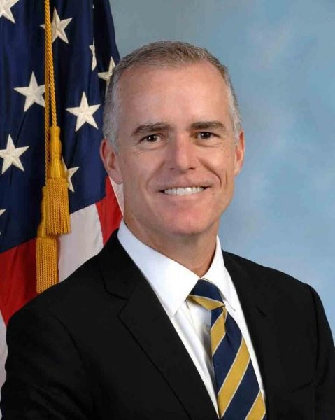 FBI Deputy Director Andrew McCabe reportedly has told staff he is stepping aside as the FBI's deputy director and will retire with full benefits in March. File photo by FBI