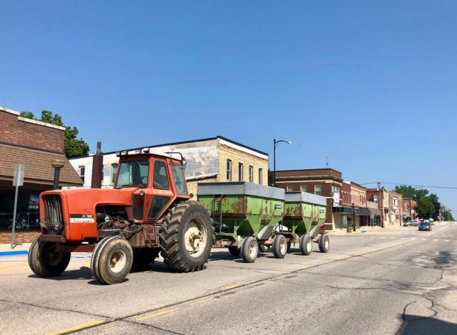 Postville was once a secluded farming town. Photo by Jessie Higgins/UPI