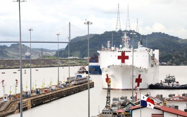 USNS Comfort returns to port from 11-week medical support mission