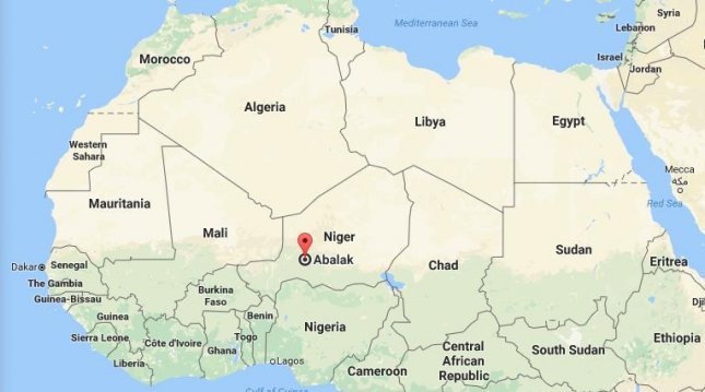 American Kidnapped In Niger US Embassy Says UPIcom - Us embassy niger map
