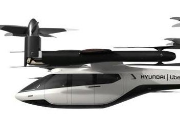 The S-A1 is a personal air vehicle concept developed by Hyundai Motor and Uber. Photo courtesy of UPI News Korea