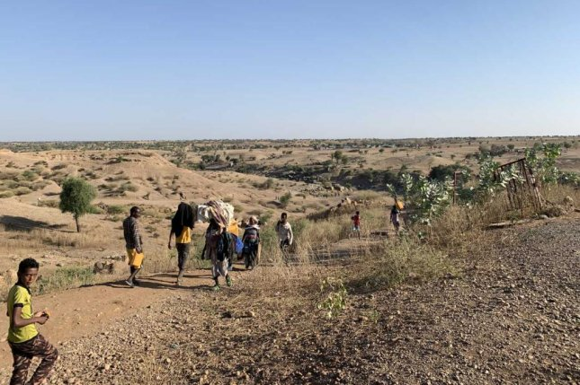 Ethiopian refugees are fleeing clashes in the country's northern Tigray region cross the border into Hamdayet, Sudan. File Photo by Ariane Maxiandeau/UNHCR