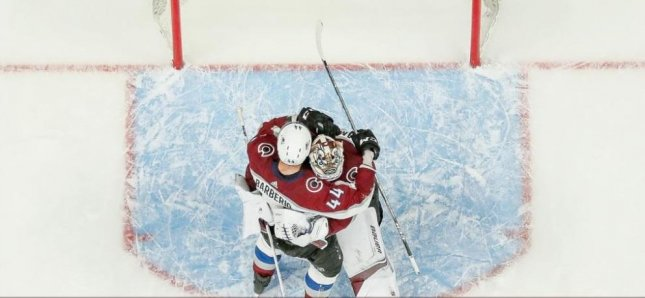 Goalkeeper Andrew Hammond and the Colorado Avalanche will try to keep their season alive vs. the Nashville Predators on Sunday. Photo courtesy of the Colorado Avalanche/Twitter