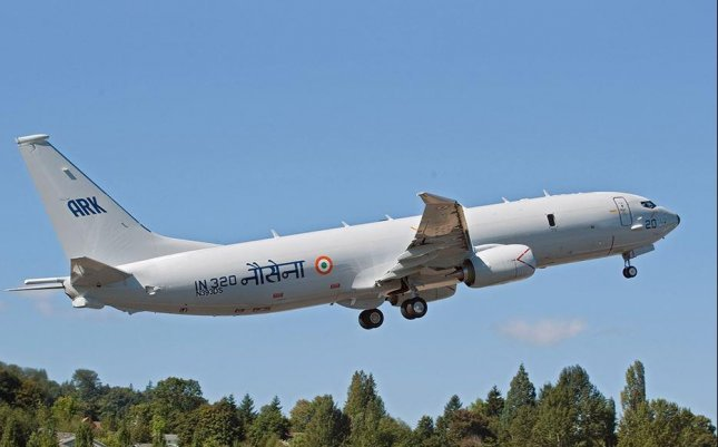 India received its latest Boeing P-8i surveillance plane on Monday, the company announced. Photo courtesy of Boeing Co.