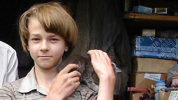 The Siberian Mowgli (Handout photo by the Belokuriha prosecutor's office.)