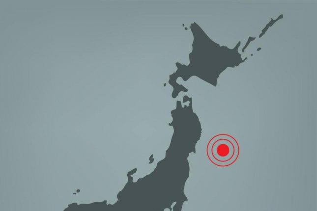Japanese officials said Wednesday's earthquake was felt from northeastern Japan, all the way to Hokkaido, Japan's northernmost island. Photo by Yummyphotos/Shutterstock