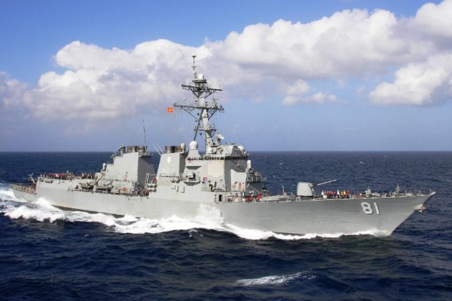 The Future USS Ralph Johnson is named after a Marine who used his body to shield his peers from a grenade blast during the Vietnam War. Pictured: Future USS Ralph Johnson's sister ship, USS Winston Churchill. Photo by U.S. Navy
