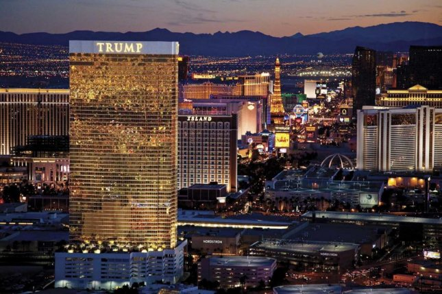 A window washer fell to his death Wednesday at the 64-story Trump International Hotel, which is on the Las Vegas Strip. Photo courtesy Trump Organization