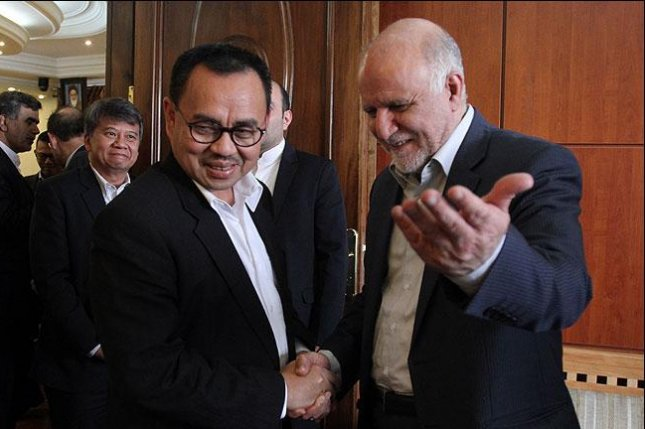 Iran supports Indonesian bid to rejoin OPEC after six-year absence. Photo courtesy of SHANA/Hasan Hosseini.