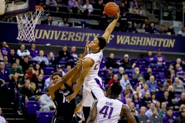 Washington's Markelle Fultz, considered the top pick in the upcoming NBA Draft, will reportedly work out for the Boston Celtics. Photo courtesy UW Men's Basketball/Twitter