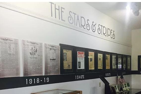 The military newspaper Stars and Stripes, first published in 1861, was ordered closed by the Pentagon this week, effective September 30, 2020. Photo courtesy of National Stars and Stripes Museum and library