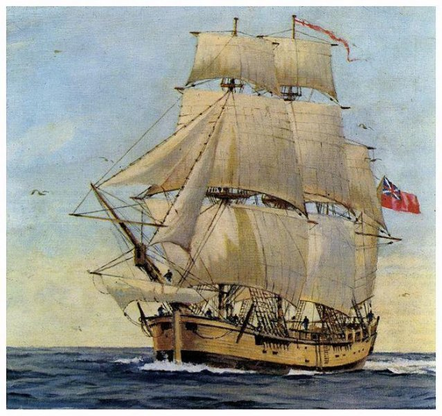 Captain Cook's HMS Endeavour might have been found in US
