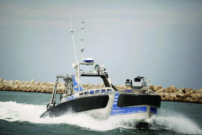 Elbit demos its unmanned surface vessel
