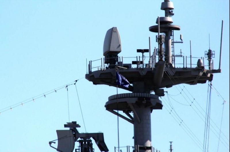 AN/SPQ-9B radar system. Photo courtesy of Department of Defense.