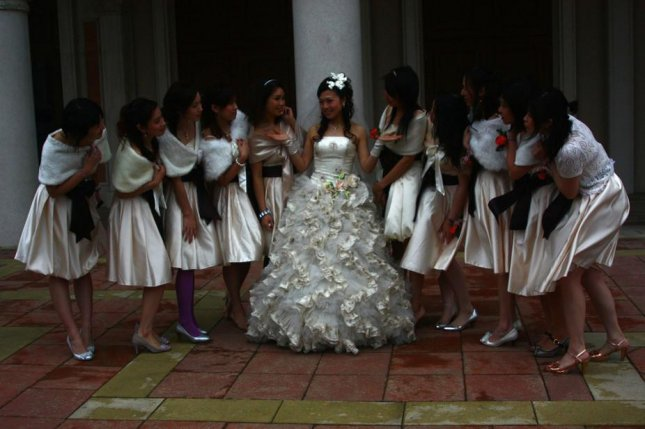 5c38a43b3b9d Dangers of being a bridesmaid in China mean some brides now hire pros