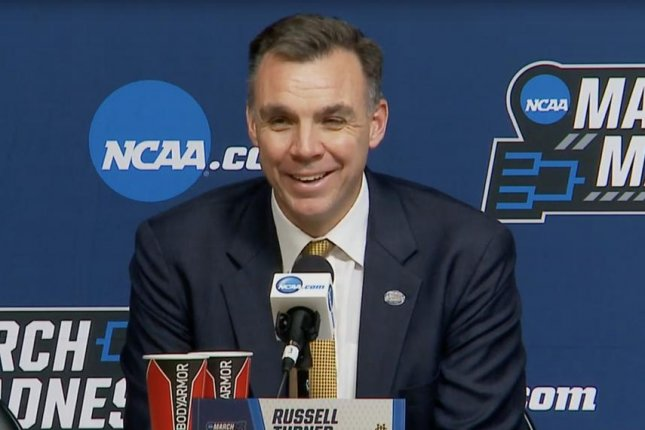 Russell Turner coached UC Irvine to a first round upset of Kansas State in the 2019 NCAA tournament before the Anteaters lost to Oregon on Sunday in San Jose, Calif. Photo courtesy of NCAA March Madness/YouTube