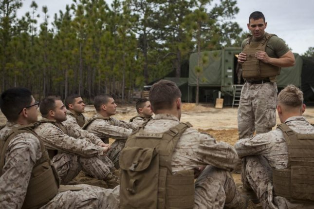 Marines conducts a Marine Corps Martial Arts Course on Fort Bragg, N.C., March 10, 2015. Photo by Stephanie Cervantes//U.S. Army