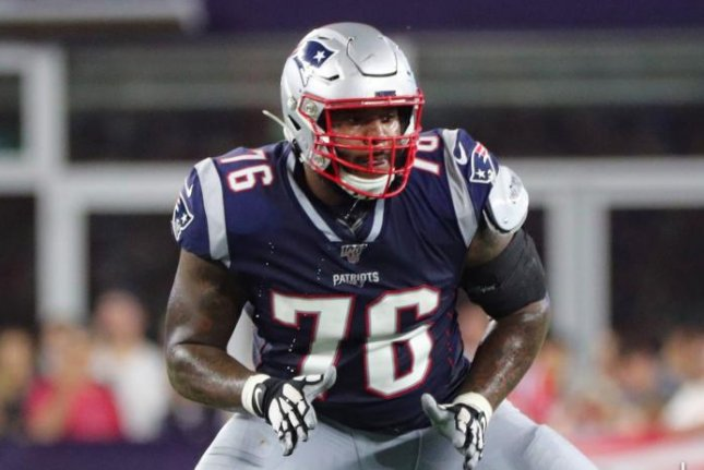 New England Patriots left tackle Isaiah Wynn sustained a toe injury during Sunday's game against the Miami Dolphins. Photo courtesy of New England Patriots/Official Website