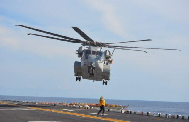 The Sikorsky division of Lockheed Martin will build nine additional CH-53K King Stallion helicopters for the U.S. Marine Corps, it announced on Friday. Photo by Victoria Falcon/U.S. Navy
