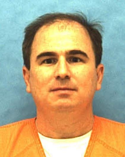 Eric Branch, 47, was executed Thursday for the 1993 rape and murder of 21-year-old Susan Morris. Photo via Florida Department of Corrections