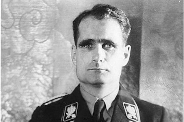 DNA testing debunked a theory that Nazi war criminal Rudolf Hess was replaced by an imposter before he died in prison. Photo courtesy German Federal Archive/Wikimedia Commons