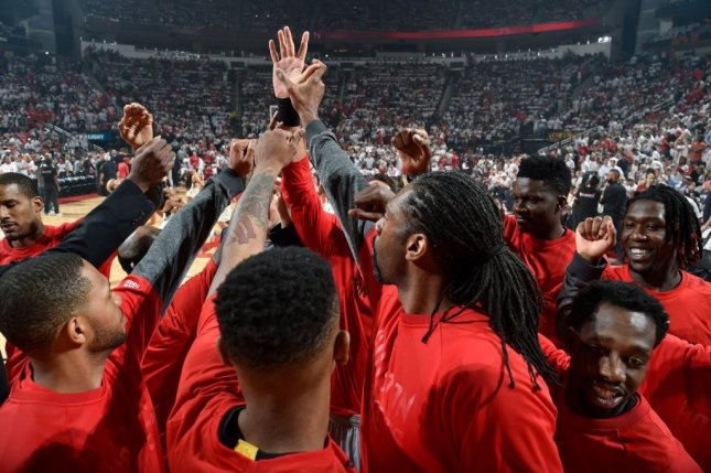 The Rockets looked like a new team in Game 4 of their series with the Spurs behind James Hardin's 28 points. Photo courtesy Houston Rockets via Twitter.