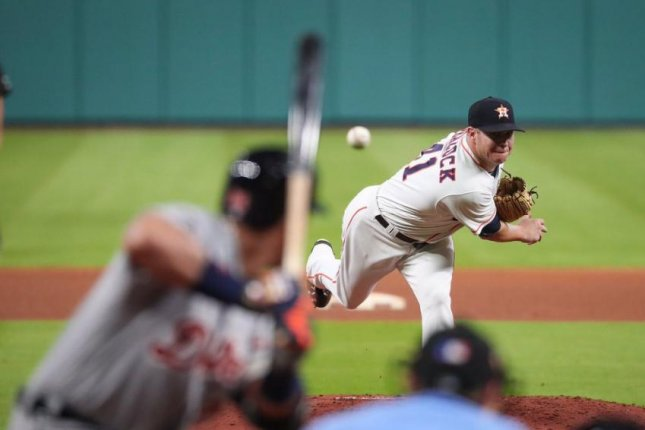 Houston's Brad Peacock helped the Astros take a 1-0 pitcher's duel victory on Monday over the Detroit Tigers. Photo courtesy Houston Astros/Twitter