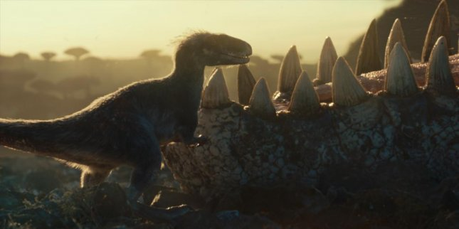 Dinosaurs roam free in Jurassic World: Dominion. Photo courtesy of Universal Pictures
