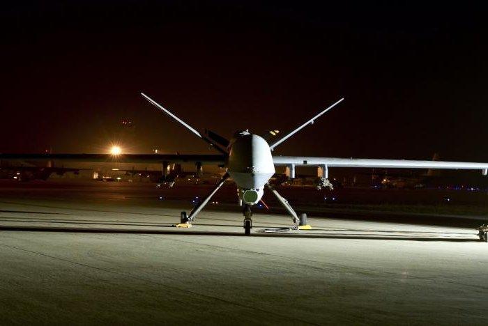 An MQ-9 Reaper sits on the flight line at Hurlburt Field, Fla. Photo by Staff Sgt. John Bainter/U.S. Air Force